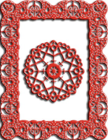 Cheery Lynn Designs - Frame Die - Celtic Fire Frame