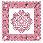 Cheery Lynn Designs - Frame Die - Dainty Dutch Deco Frame