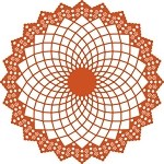 Cheery Lynn - Doily Die - Large Sunflower Doily