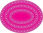 Cheery Lynn-Doily Die- Oval Doily Stacker One