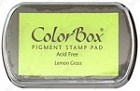 Colorbox Pigment Pad - Lemon Grass