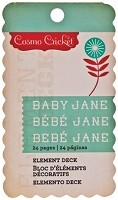 "Cosmo Cricket - Baby Jane Elements Stack (2.75""x4.75"")"