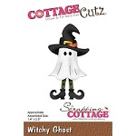 Cottage Cutz - Die - Witchy Ghost