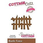 Cottage Cutz - Die - Rustic Fence