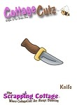 Cottage Cutz-Mini Dies-Mini Pirate Knife