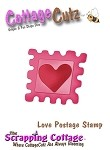 Cottage Cutz-Mini Dies-Mini Love Postage