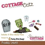 Cottage Cutz-Peechy Keen Dies (w/clear stamps)4x4-Frankly