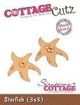 Cottage Cutz-3x3 Dies-Starfish
