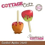 Cottage Cutz-4x4 Dies-Candy Apples