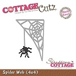 Cottage Cutz-4x4 Dies-Spider Web