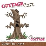 Cottage Cutz-4x4 Dies-Haunted Tree (double die)