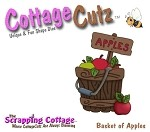 Cottage Cutz-4x4 Dies-Bushel of Apples