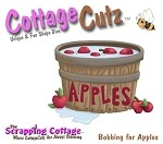 Cottage Cutz-4x4 Dies-Bobbing for Apples