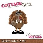 Cottage Cutz-4x4 Dies-Country Turkey