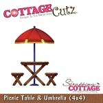 Cottage Cutz-4x4 Dies-Picnic Table