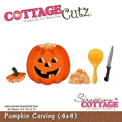 Cottage Cutz-Die-Pumpkin Carving