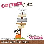Cottage Cutz-Die-Spooky Sign Post
