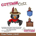 Cottage Cutz-Die-Crow Peeker