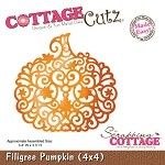 Cottage Cutz-Die-Fillagree Pumpkin