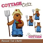 Cottage Cutz-Die-Harvest Ted