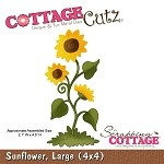 Cottage Cutz-Die-Large Sunflower