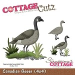 Cottage Cutz Die - Canadian Goose