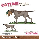 Cottage Cutz Die - Pointer Dog