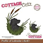Cottage Cutz Die - Profile of Labrador