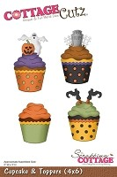 Cottage Cutz - Die - Cupcake & Toppers