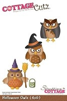 Cottage Cutz - Die - Halloween Owls