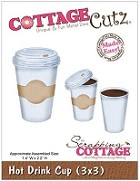 Cottage Cutz - 3x3 Dies - Hot Drink Cup