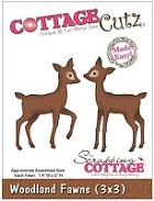 Cottage Cutz - 3x3 Dies - Woodland Fawns