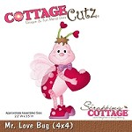 Cottage Cutz - Die - Mr. Love Bug