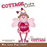 Cottage Cutz - Die - Mrs. Love Bug