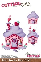 Cottage Cutz - Die - Sweet Cupcake Shop