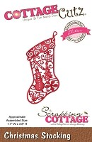 Cottage Cutz - Die - Christmas Stocking (Elites)