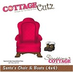 Cottage Cutz - Die - Santa's Chair & Boots