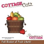 Cottage Cutz - Die - Fall Basket of Fruit
