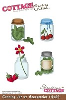 Cottage Cutz - Die - Canning Jar with Accessories