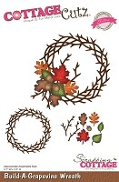 Cottage Cutz - Die - Build-A-Grapevine Wreath