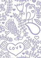 "Couture Creations - Embossing Folder (5""x7"") - Fresh & Fun Collecion - Smooch"