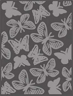 Craft Concepts - Embossing Folder - A2 Wings