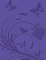 Craft Concepts - Embossing Folder - Flutterby