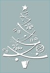Craft Concepts -Embossing Folder-Festive Tree