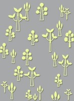 Craft Concepts - A2 Embossing Folder - All Dressed Up Tall Trees