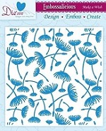"Die'sire Embossalicious 6""x6"" Embossing Folder - Make A Wish"