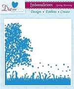 "Die'sire Embossalicious 6""x6"" Embossing Folder - Spring Morning"