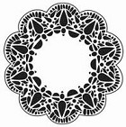 The Crafters Workshop - Templates - 12X12 Deco Doily
