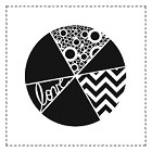 The Crafters Workshop - 12x12 Template - Pie Chart