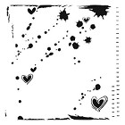 The Crafters Workshop - 12x12 Template - Confetti